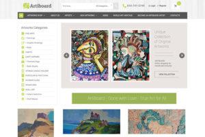 Artiboard.com screen