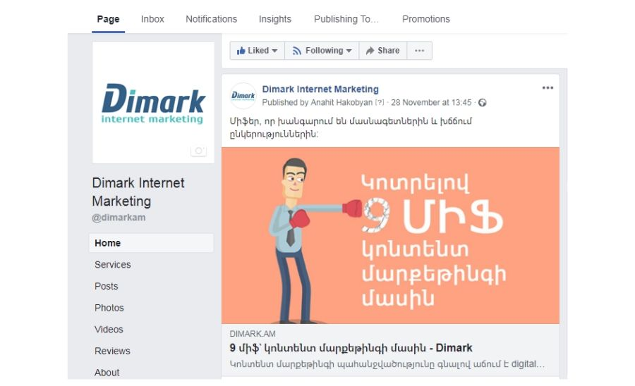 Dimark Internet Marketing smm